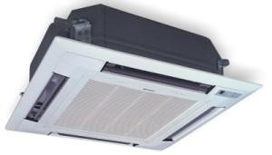 Внутренний блок Gree GMV кассетного типа 4-х поточный с ТРВ и с помпой