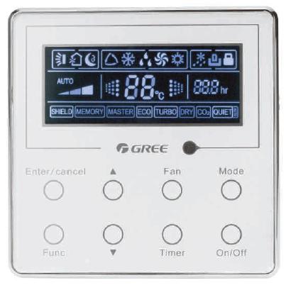 Проводной пульт Gree XK02 ESC-RC-600